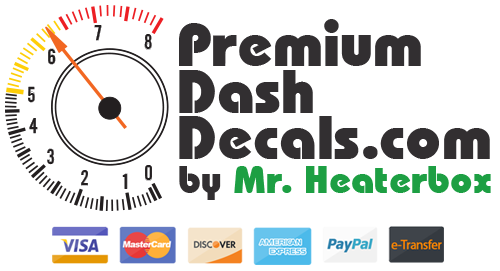 Premium Dash Decals Logo