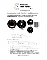 1971 – 1974 B Body Midline Rallye Decal Installation