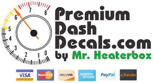 Premium Dash Decals Logo