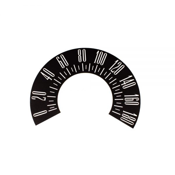 60 Plymouth Valiant Speedometer Face 180 KPH