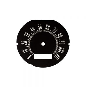 63 Plymouth Valiant Speedometer Face 110MPH