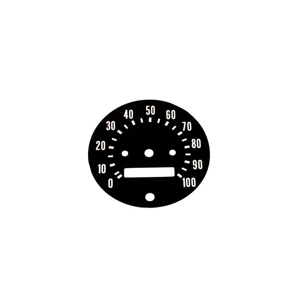 64 - 68 Dodge Truck (Custom Sport Special CSS / HPP) Speedometer 100MPH