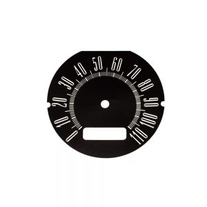 64 Dodge Dart Speedometer Face 110MPH