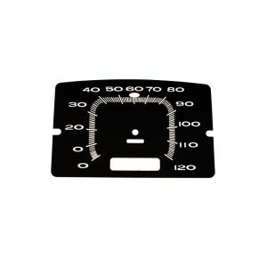 65 Plymouth Belvedere Speedometer 120 MPH Face