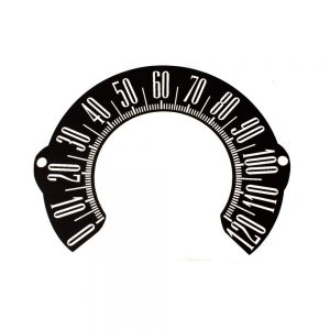 65 Plymouth Barracuda Speedometer Decal