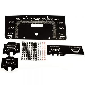 66 - 67 Plymouth  Belvedere Decal Kit 150 MPH