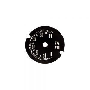 67 - 71 A Body Rallye Tachometer Face 6000RPM
