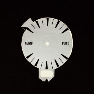 71 - 73 Matador Gauge Legend for Temp/Fuel