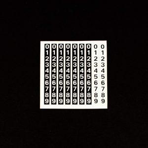 71 - 73 Matador Odometer Numbers