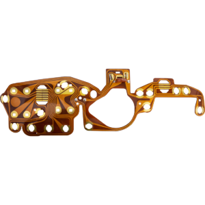 PDD176 1975-76 B-Body Dodge / Plymouth Charger, Cordoba, Fury, Coronet Flexible Circuit Board