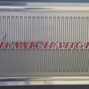 1976-80 Dodge Ramcharger Adventurer SE Tailgate Decal
