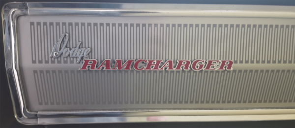 1976-80 Dodge Ramcharger Adventurer SE Tailgate Decal